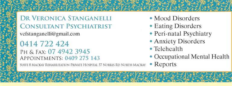 Dr Veronica Stanganelli Consultant Psychiatrist - Doctors Find